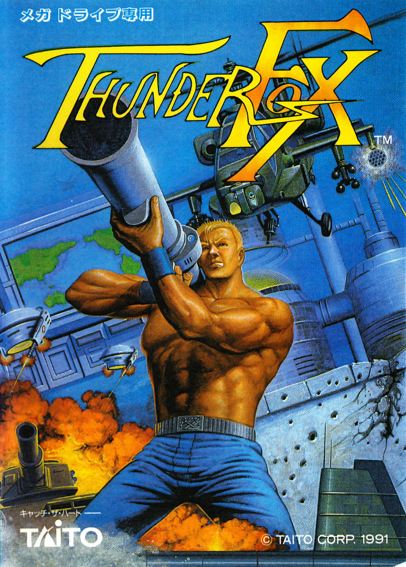 Thunder Fox Genesis Front Cover
