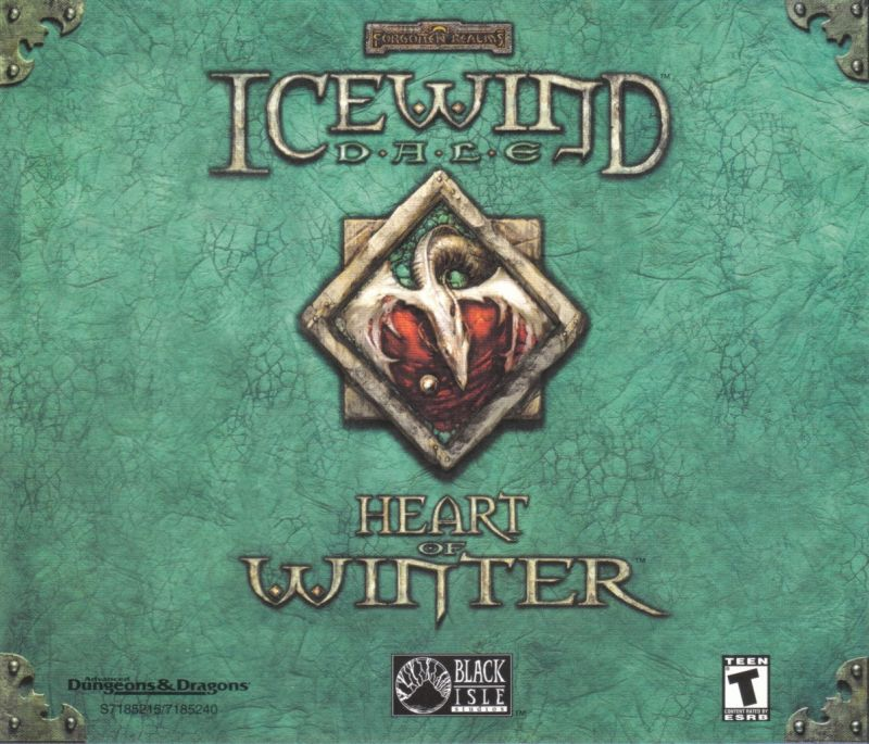 Icewind Dale: The Collection Windows Other Jewel Case - Back