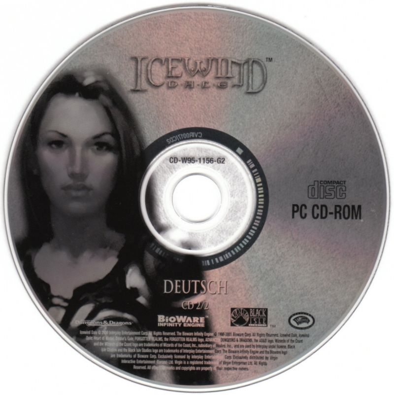 Icewind Dale Complete Windows Media Icewind Dale - Disc 2