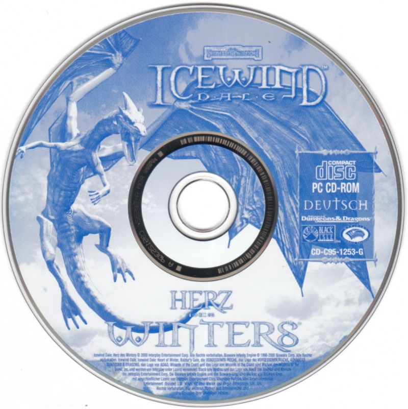 Icewind Dale Complete Windows Media Icewind Dale: Heart of Winter - Disc