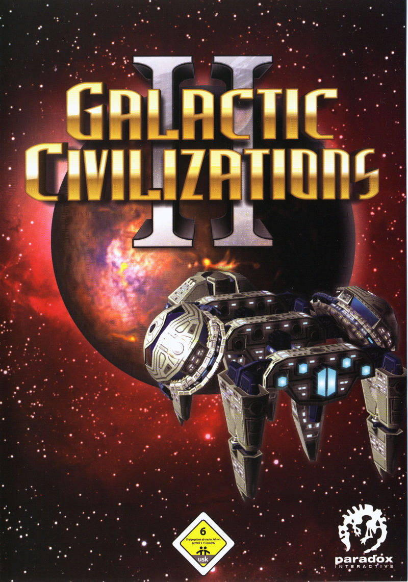 Galactic Civilizations II: Dread Lords Windows Other Keep Case - Front