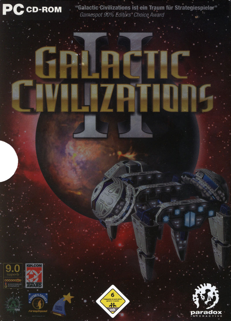 Galactic Civilizations II: Dread Lords Windows Front Cover