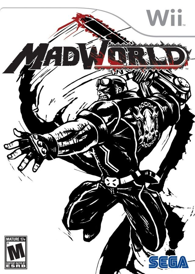 MadWorld Wii Front Cover