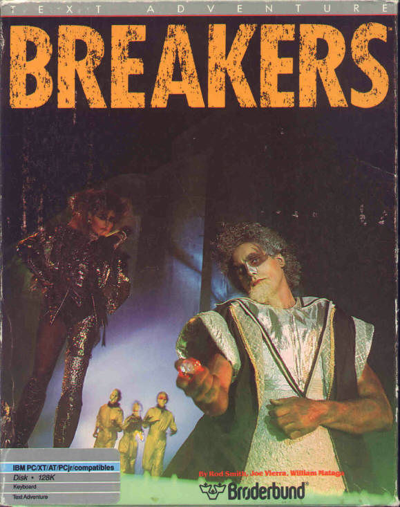 Breakers DOS Front Cover