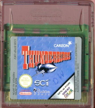 Thunderbirds Game Boy Color Media