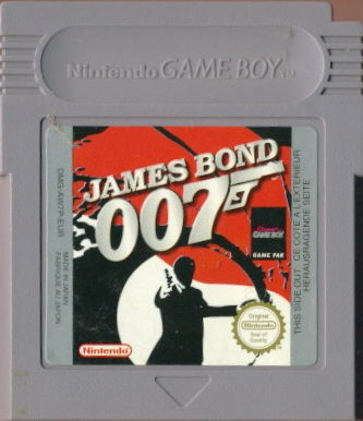James Bond 007 Game Boy Media