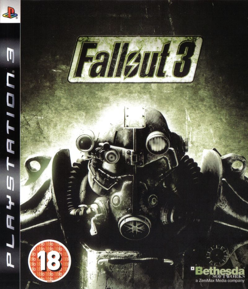 Fallout 3 PlayStation 3 Front Cover