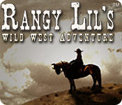 Rangy Lil's Wild West Adventure Macintosh Front Cover