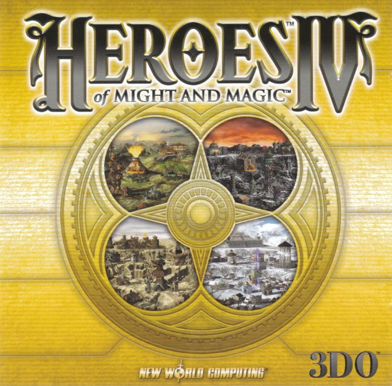 Heroes of Might and Magic IV Windows Other Jewel Case - Front