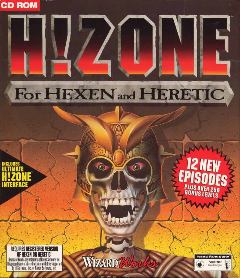 H!Zone DOS Front Cover