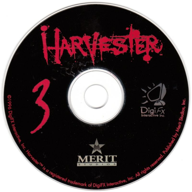 Harvester DOS Media Disc 3/3