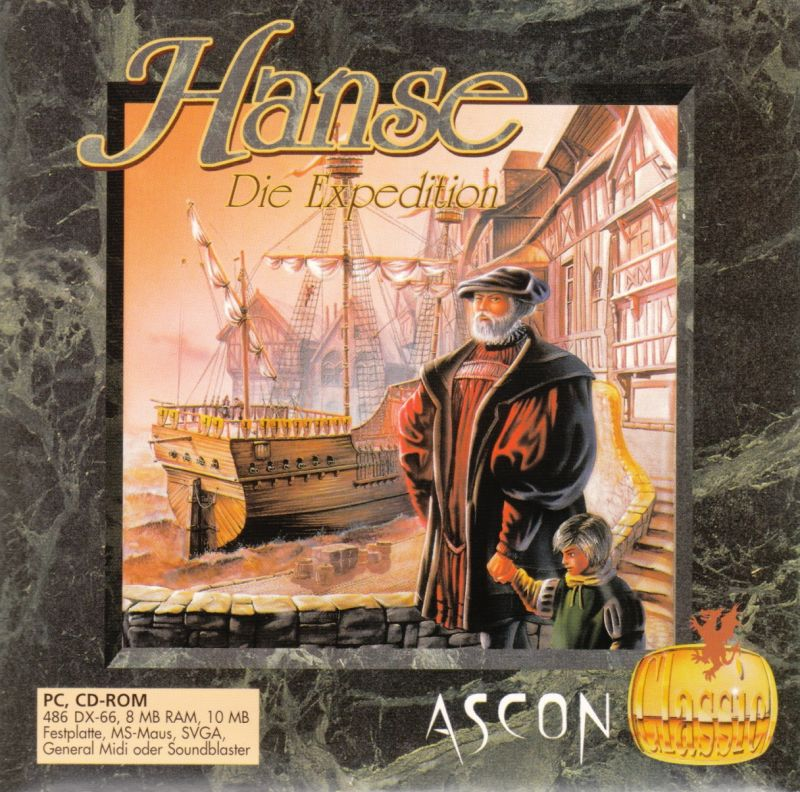 Hanse: Die Expedition DOS Other CD Cardboard Sleeve - Front
