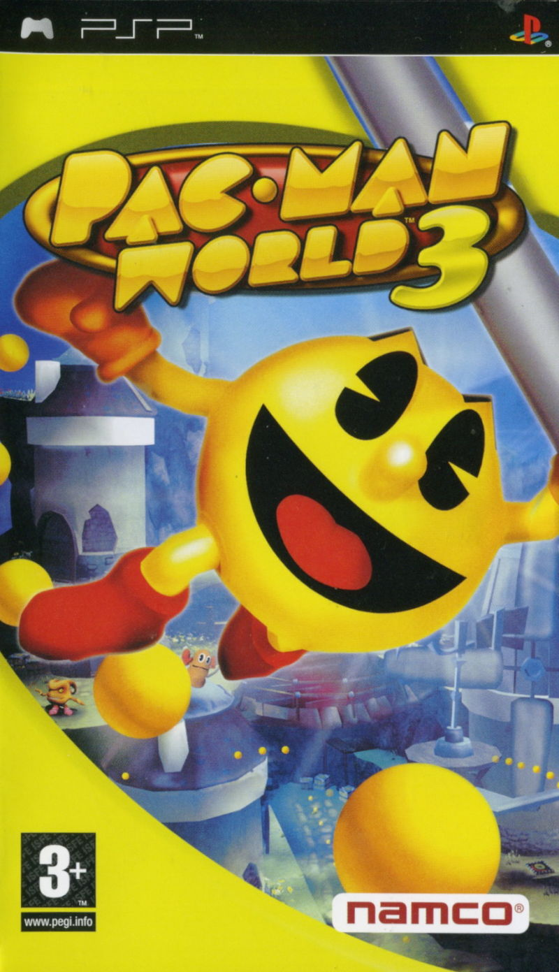 Pac Man World 3 for PSP 2005 MobyGames