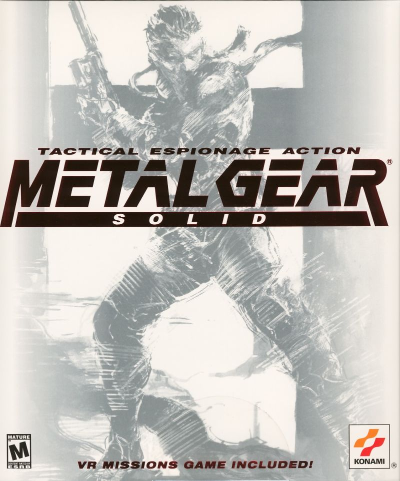 metal gear solid for playstation 1999 mobygames