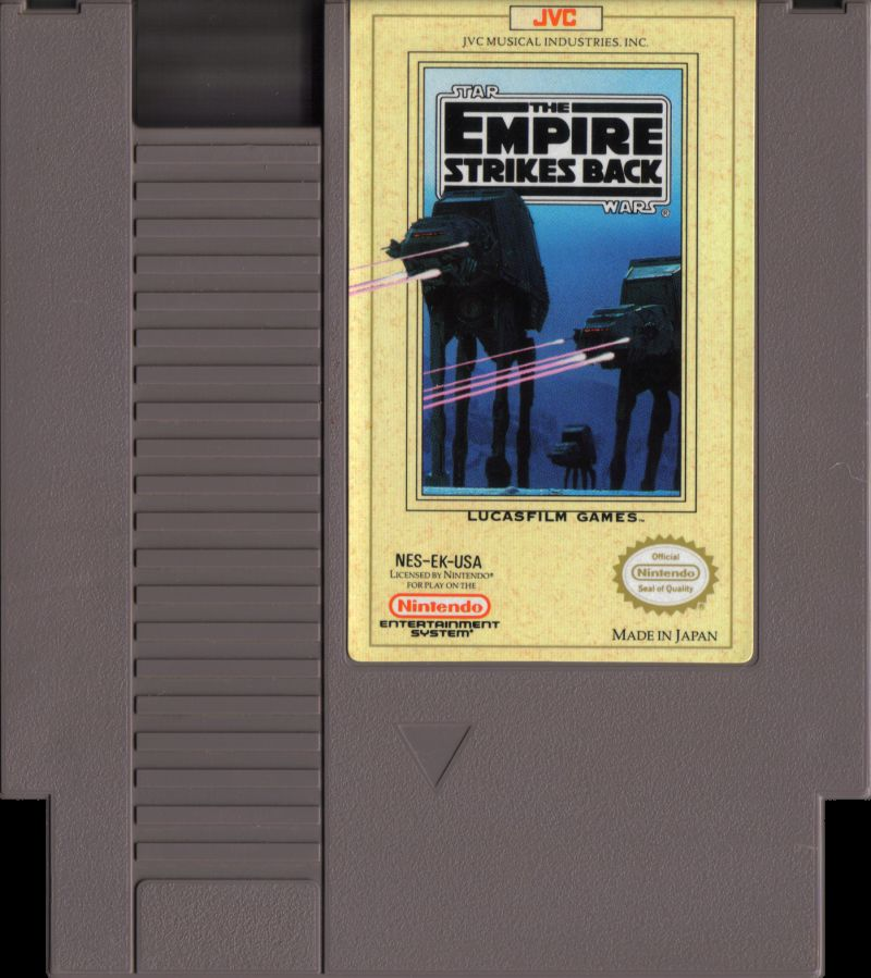 Star Wars: The Empire Strikes Back NES Media