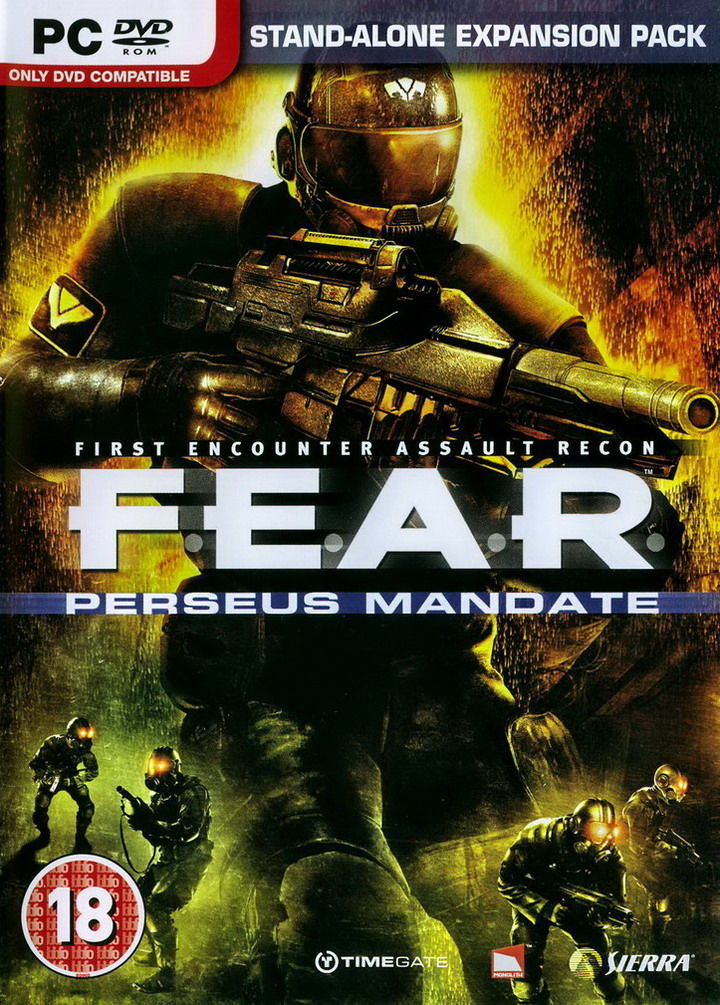 F.E.A.R.: Perseus Mandate Windows Front Cover