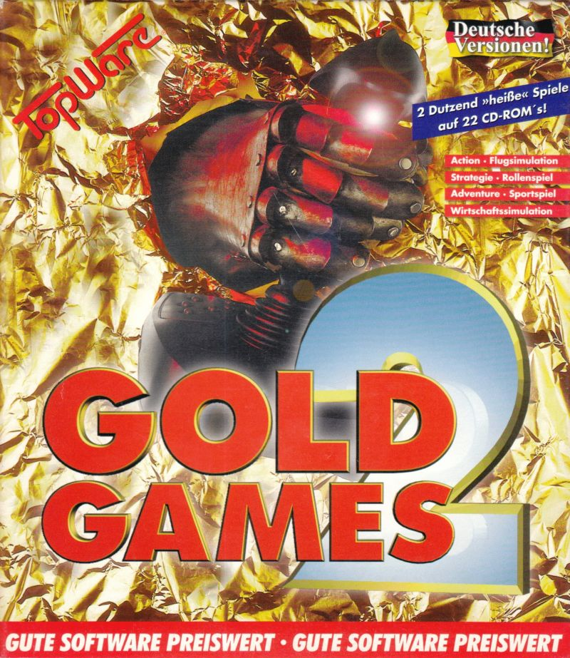 Gold Games 2 DOS Front Cover