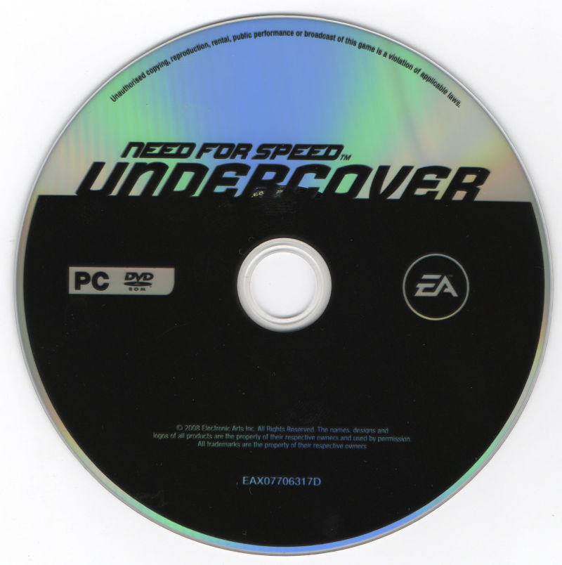 Need for Speed: Undercover Windows Media