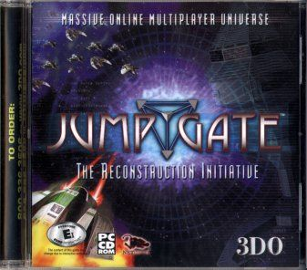 Jumpgate: The Reconstruction Initiative Windows Front Cover