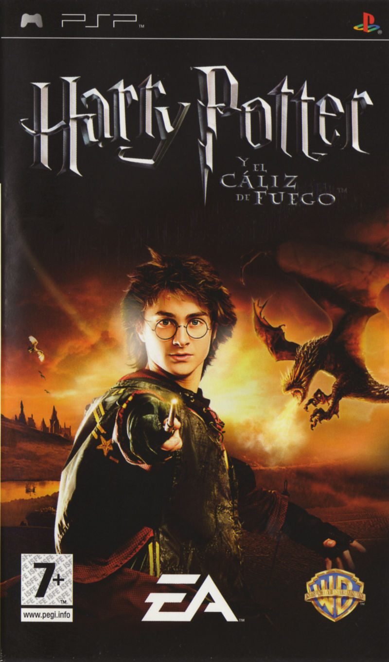 harry potter y el caliz de fuego psp