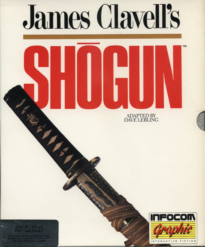 James Clavell's Shogun DOS Front Cover