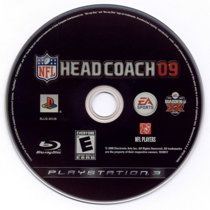 Madden NFL: XX Years (Collector's Edition) PlayStation 3 Media NFL Head Coach 09