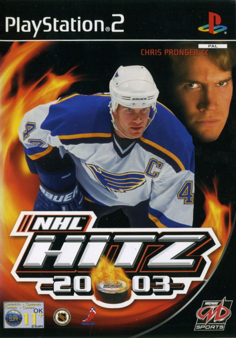 NHL Hitz 20-03 PlayStation 2 Front Cover