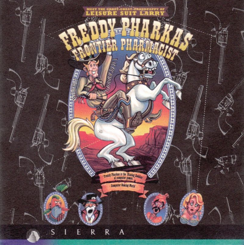 Freddy Pharkas: Frontier Pharmacist DOS Other Jewel Case - Front