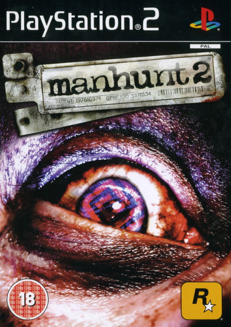 Manhunt 2 PlayStation 2 Front Cover