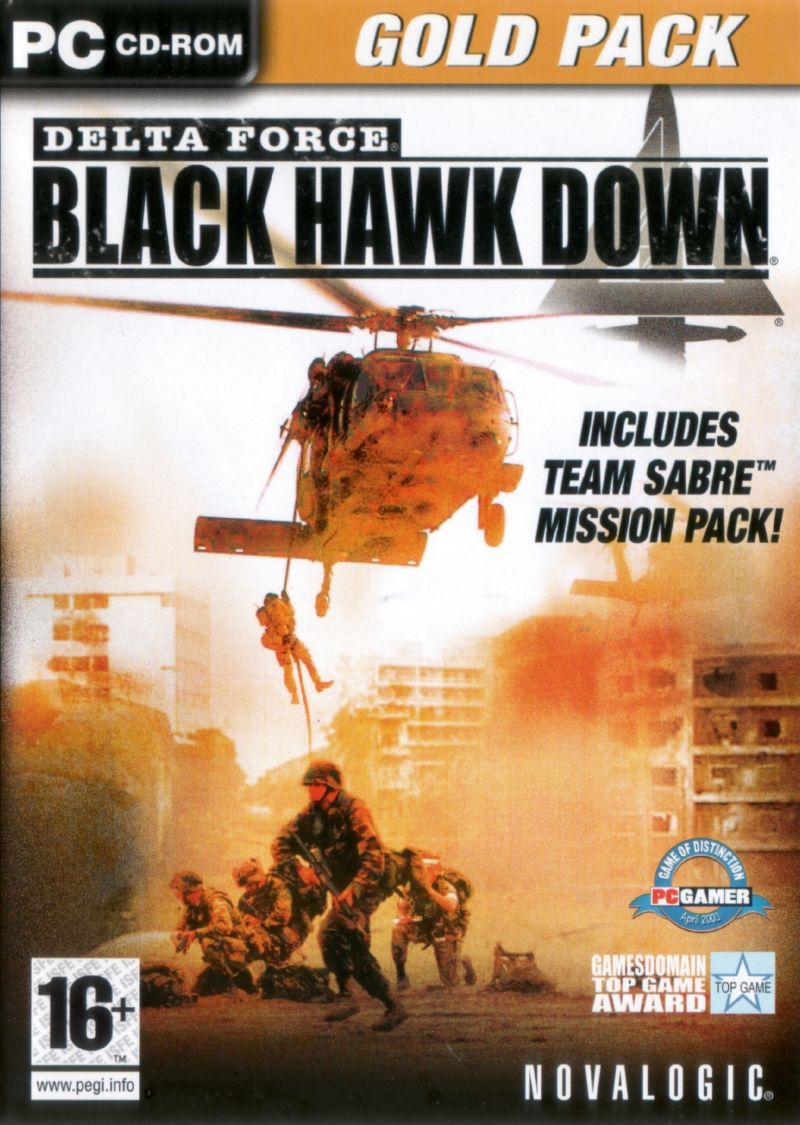 Delta Force: Black Hawk Down: Gold Pack Windows Front Cover