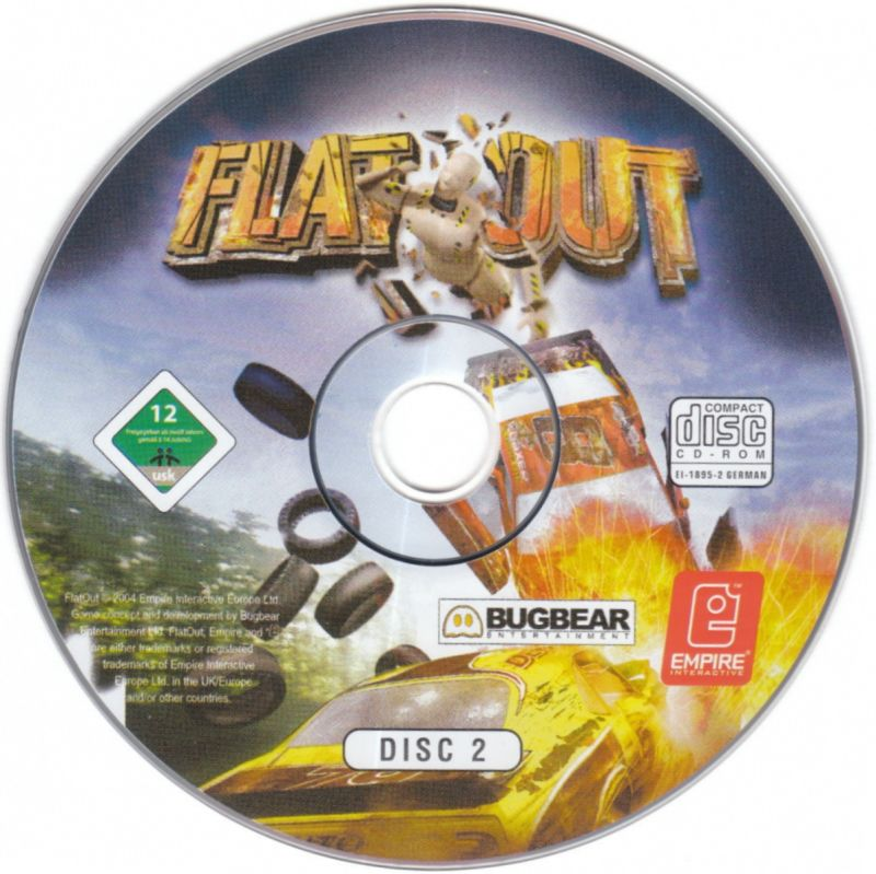 FlatOut Windows Media Disc 2/2