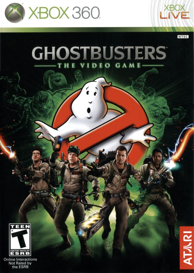 Ghostbusters: The Video Game (2009) Xbox 360 box cover art ... Xbox 360 Game Cover Size
