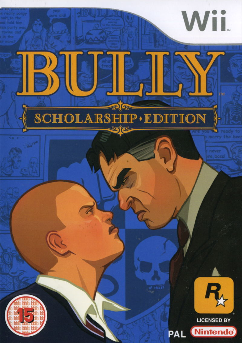 Bully: Scholarship Edition Wii Front Cover