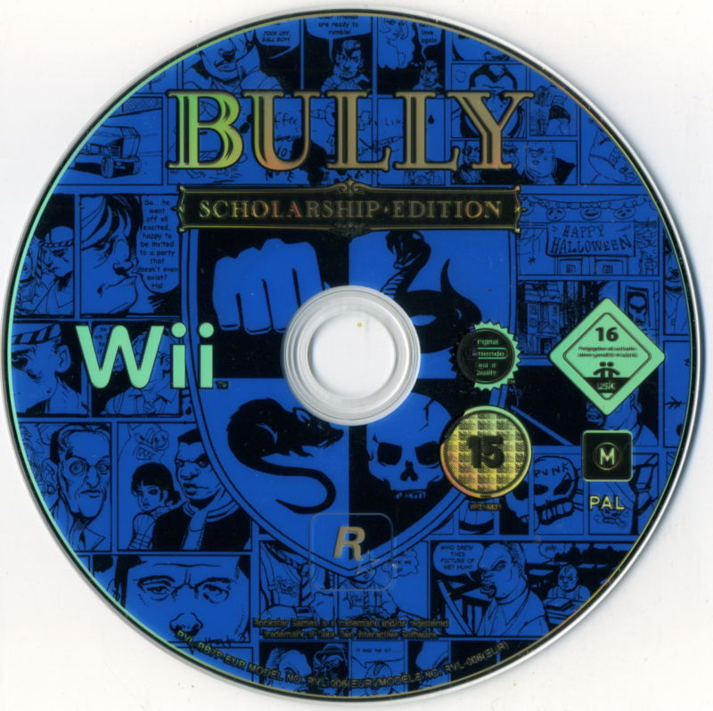 Bully: Scholarship Edition Wii Media