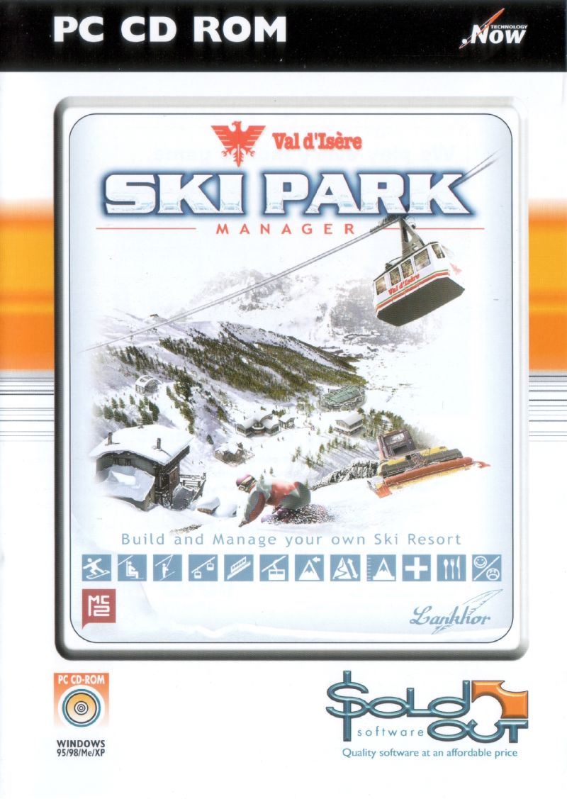 Val d'Isère Ski Park Manager Windows Front Cover