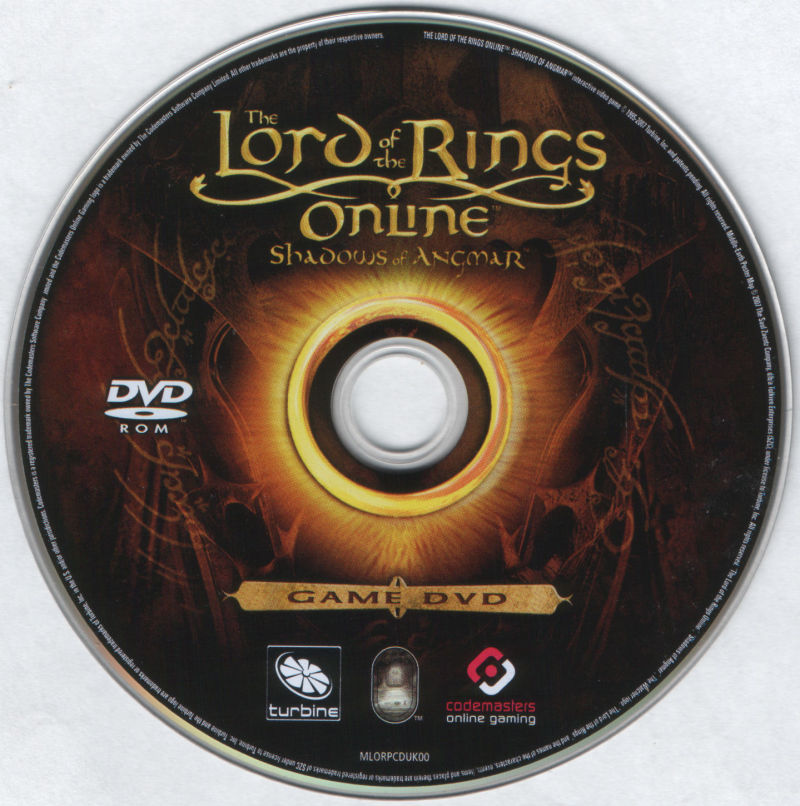 The Lord of the Rings Online: Shadows of Angmar (Pre-Order Version) Windows Media DVD