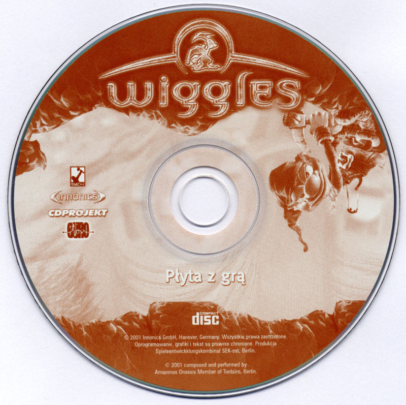 Diggles: the Myth of Fenris Windows Media Game disc