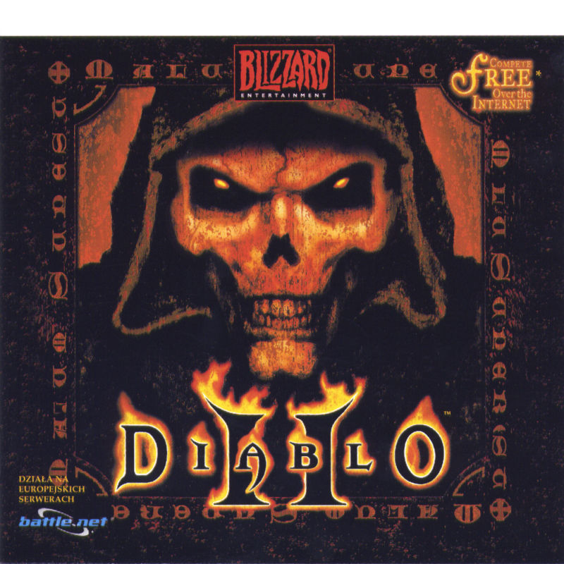 Diablo II (Collector's Edition) Windows Other Jewel Case 1 - Front