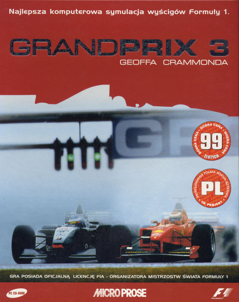 Grand Prix 3 Windows Front Cover