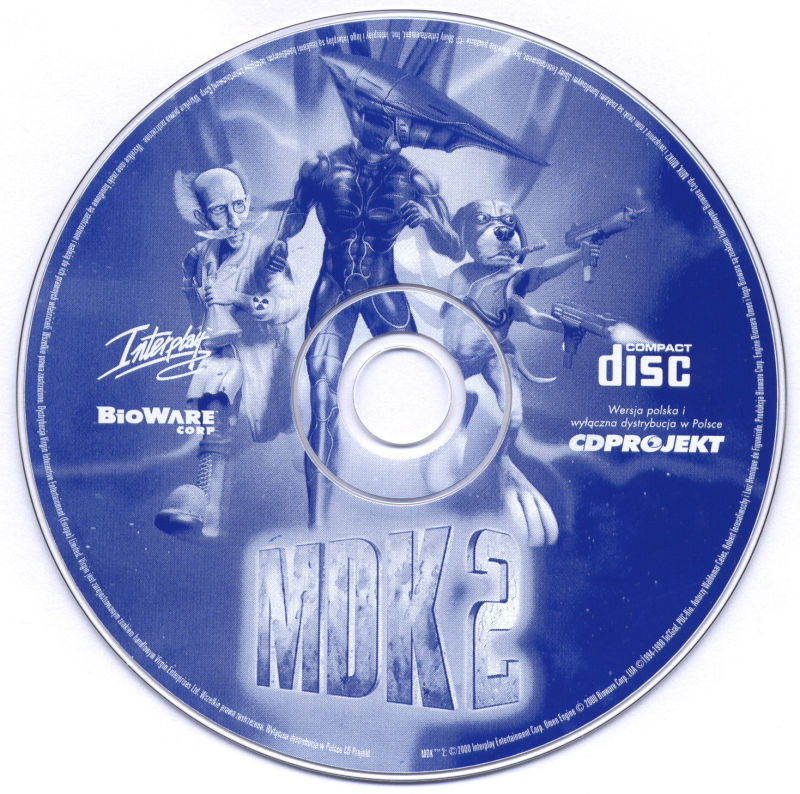 MDK 2 Windows Media Game Disc