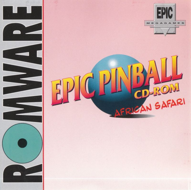 Epic Pinball DOS Other Jewel Case - Front