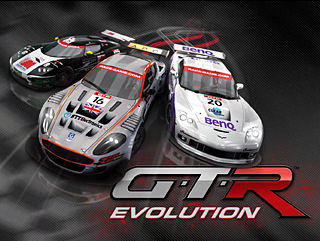 GTR Evolution Complete Windows Front Cover