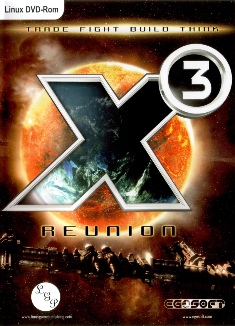 X³: Reunion Linux Front Cover