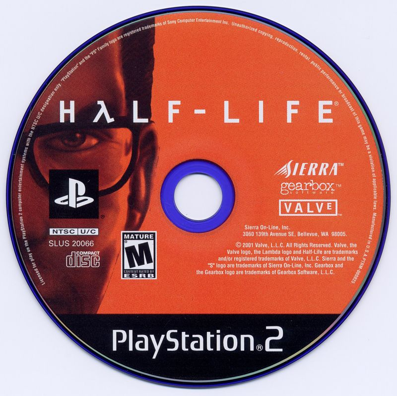 Half-Life PlayStation 2 Media