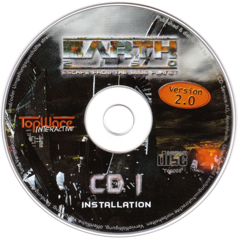 Earth 2150 Windows Media Disc I