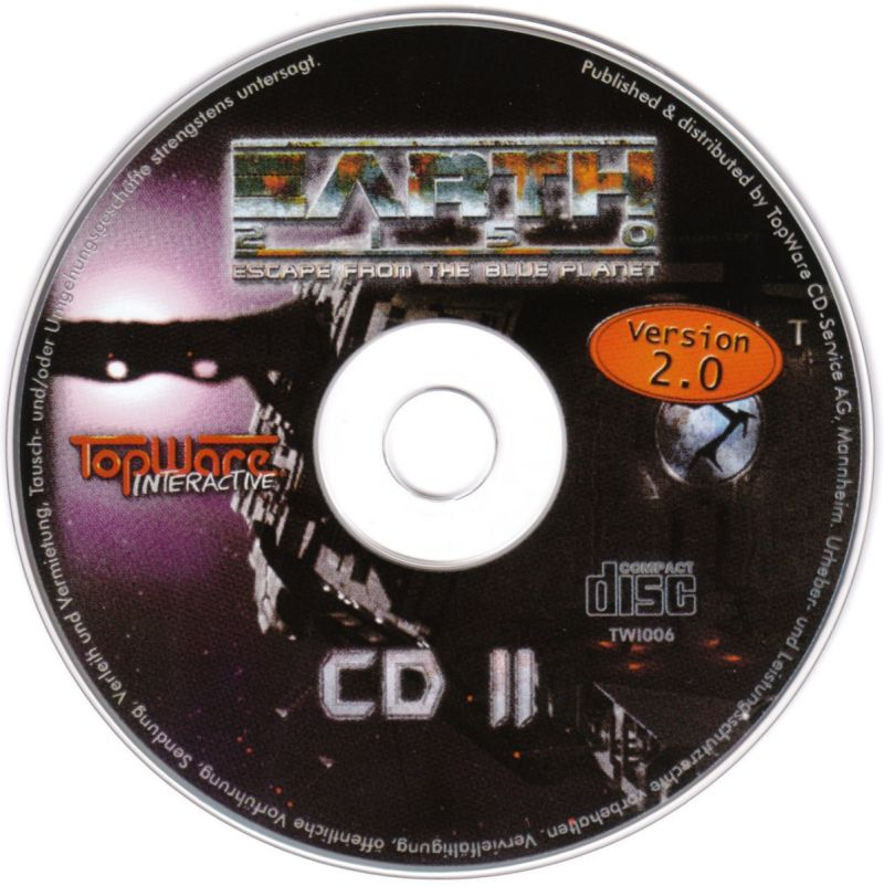Earth 2150 Windows Media Disc II