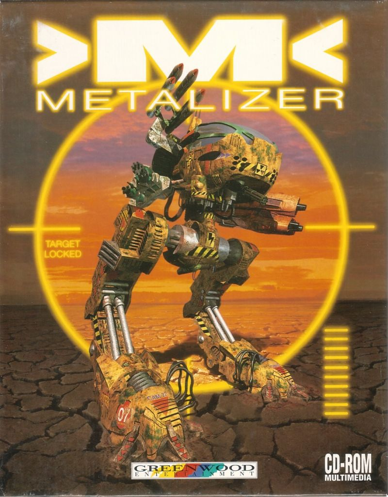 Metalizer DOS Front Cover
