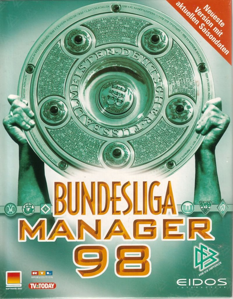 Bundesliga Manager 98 Windows Front Cover
