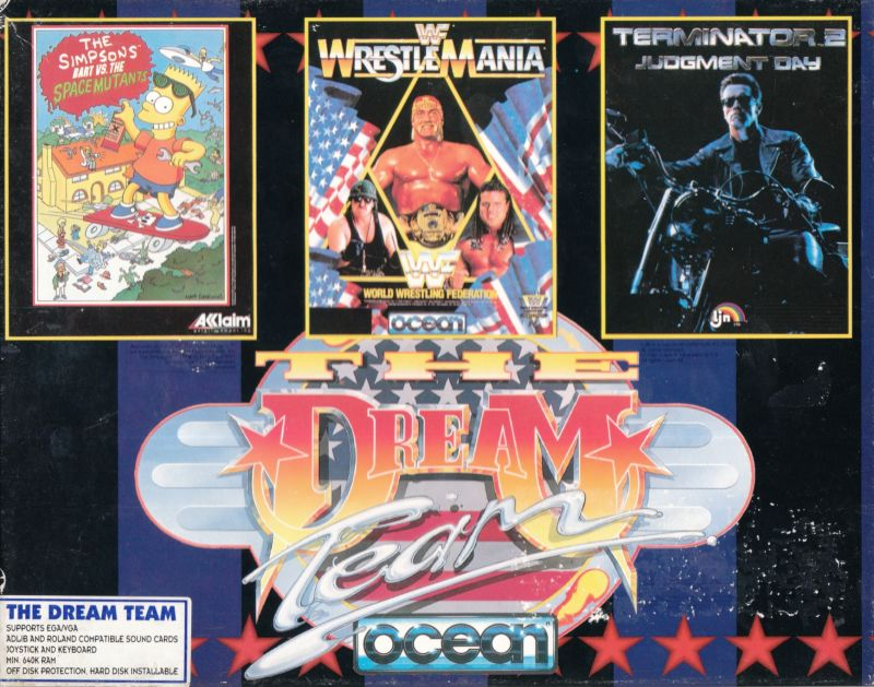 The Dream Team DOS Front Cover