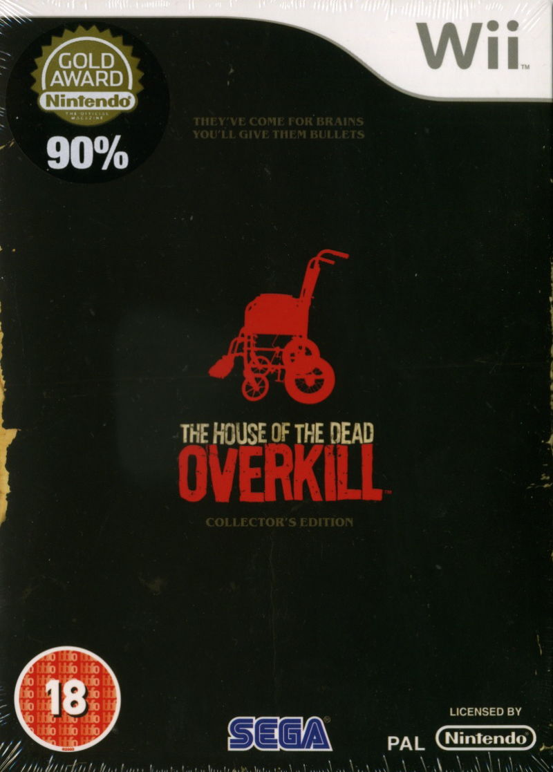 The House of the Dead: Overkill (Collector's Edition) Wii Front Cover